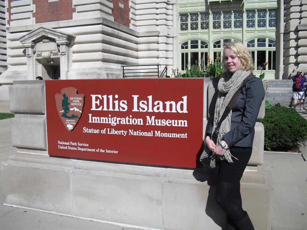 Ellis Island toegangsbord