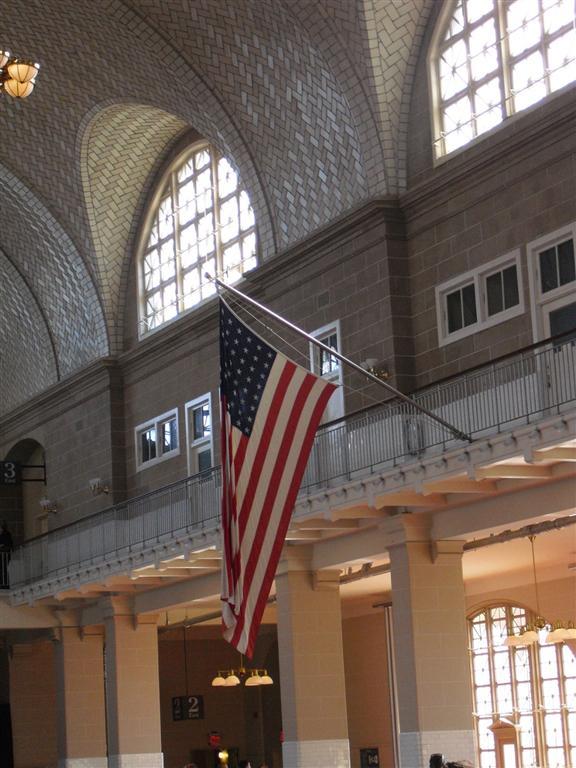 Ellis Island vlag