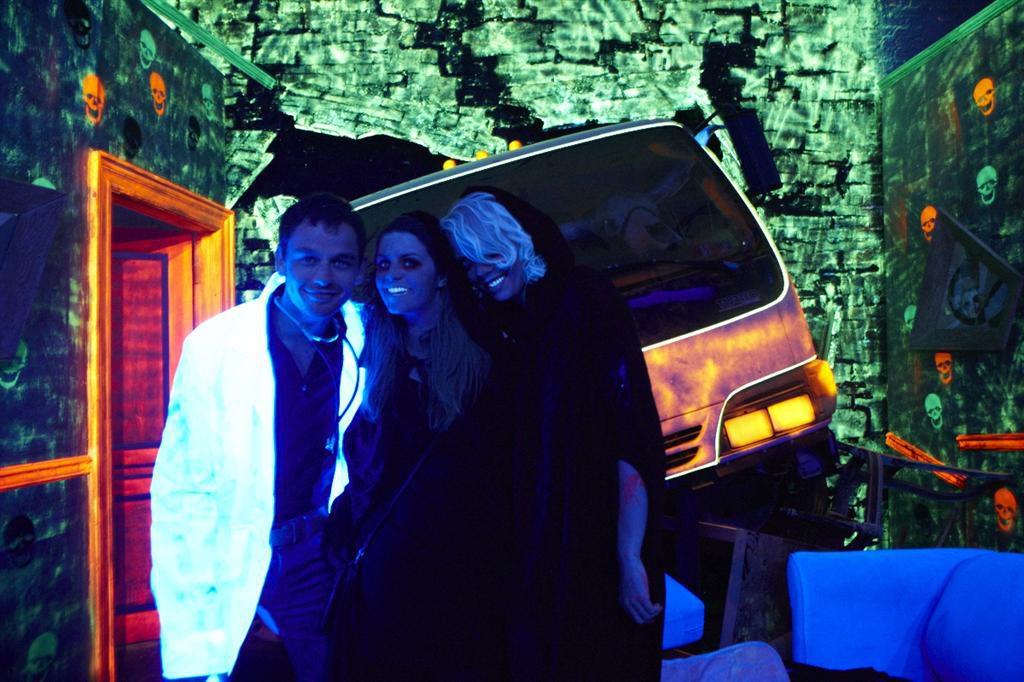 Halloween party NYC met Aukje en Rick