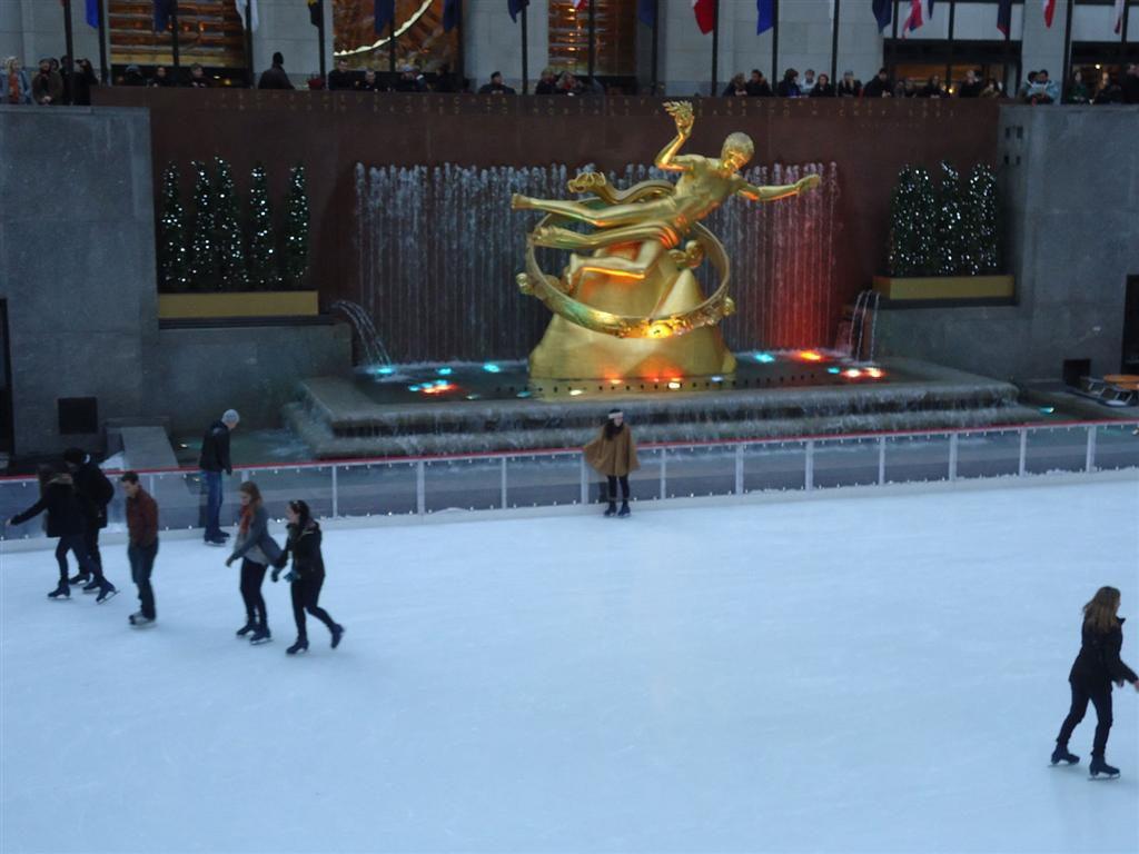 Schaatsbaan Rockefeller Center