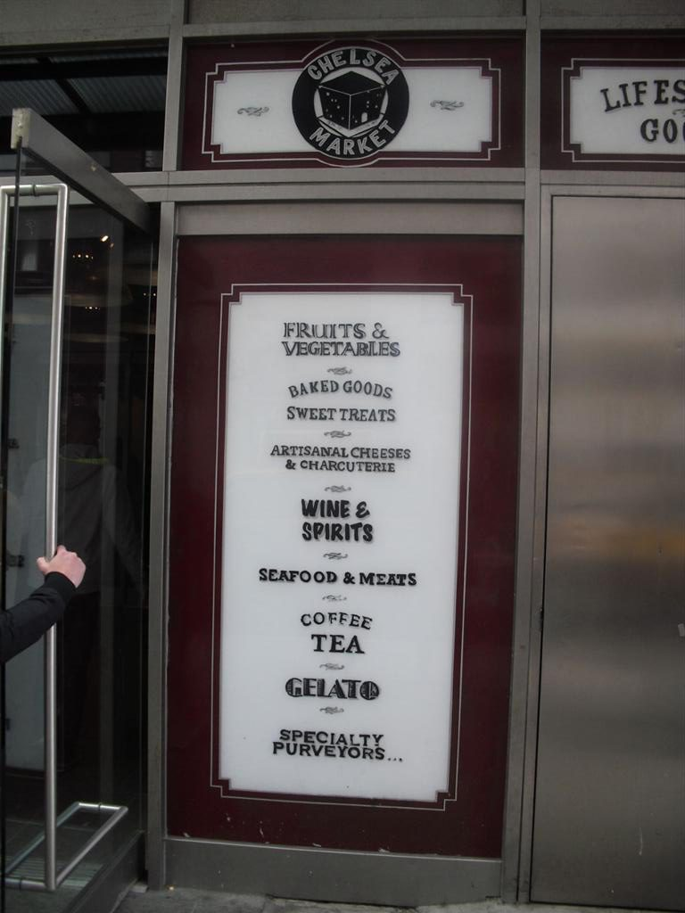 Chelsea Market Sign