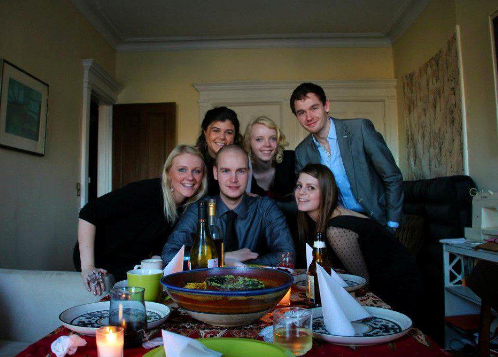Familiefoto Thanksgiving