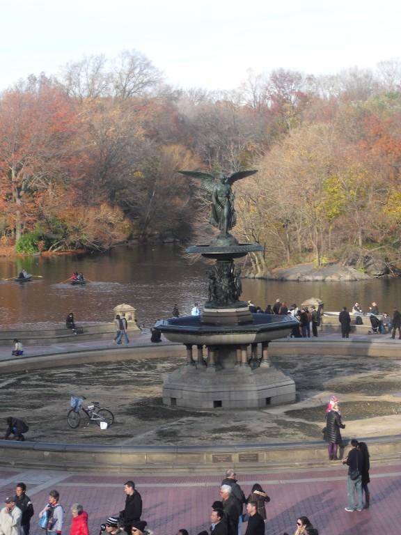 Fontein Central Park