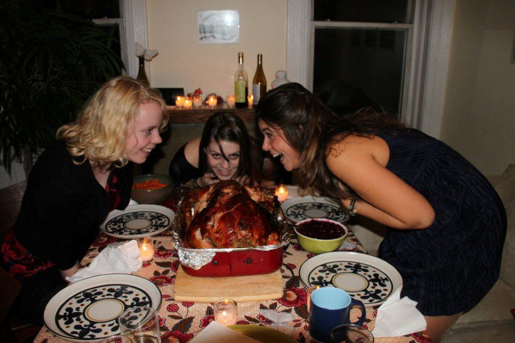 Kalkoen Thanksgiving