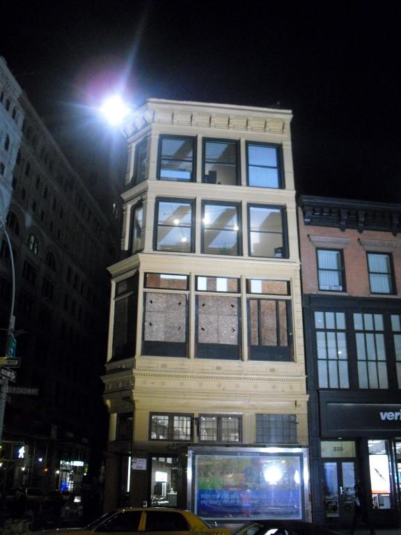 Mooi oud gebouw NYC