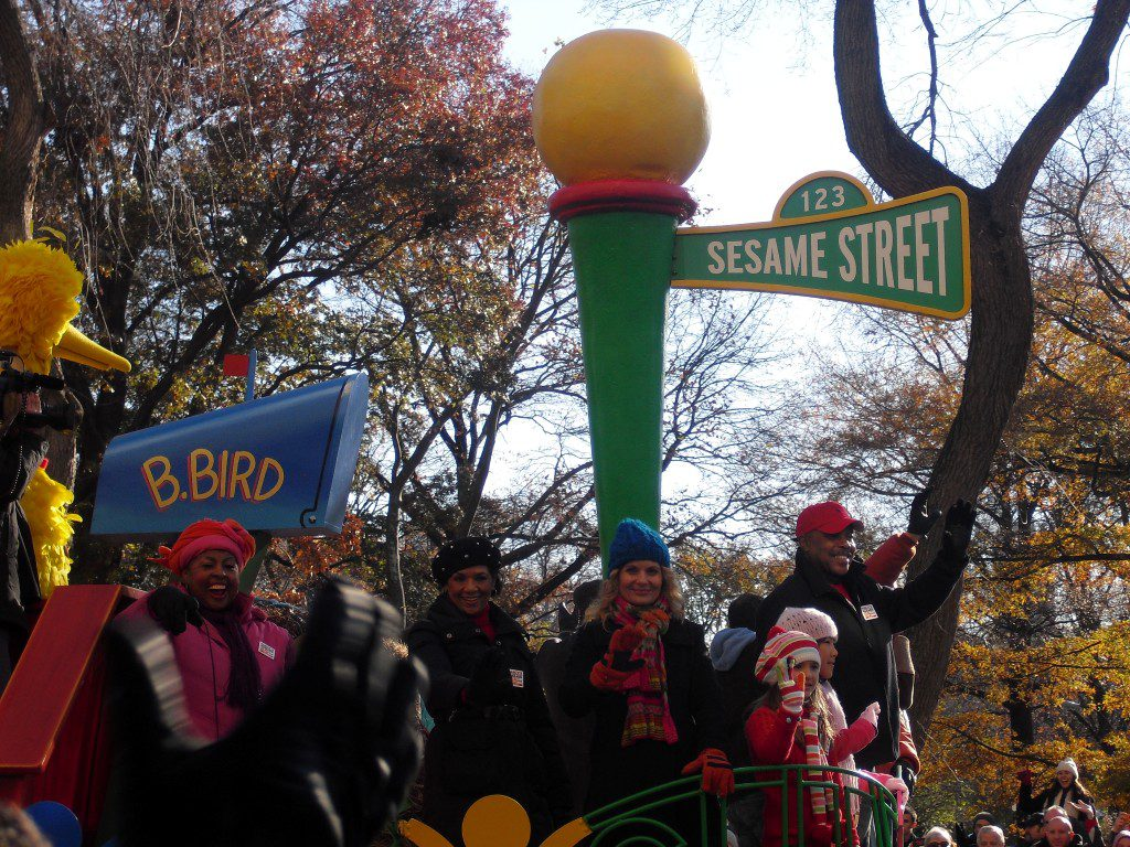 Sesamstraat Thanksgiving Parade