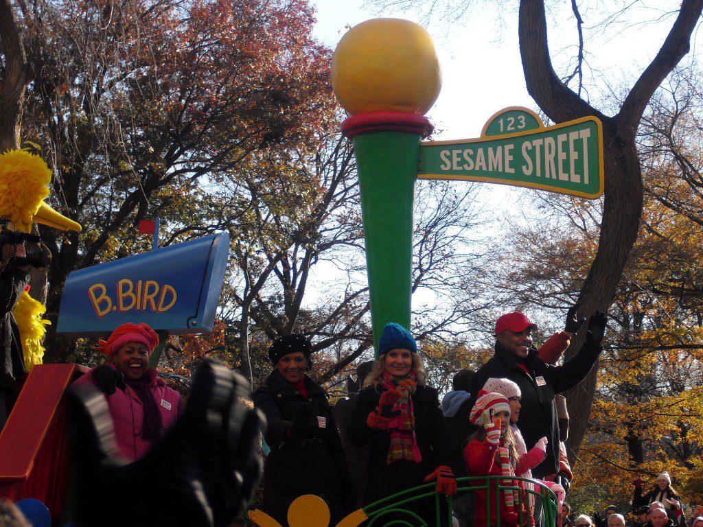 Sesamstraat Thanksgiving Parade