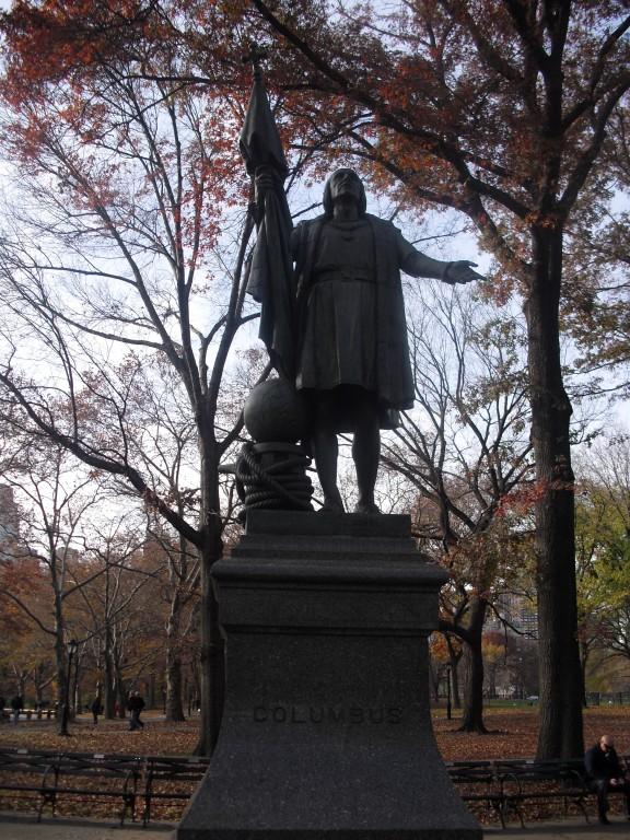 Standbeeld Columbus