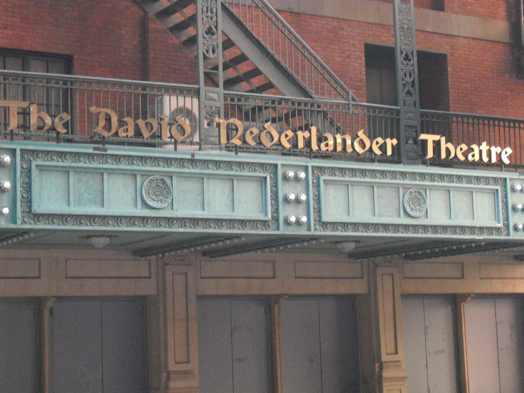 The David Nederlander THeater