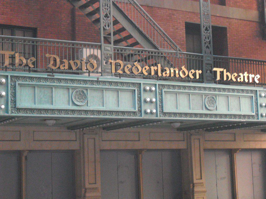 The David Nederlander THeater
