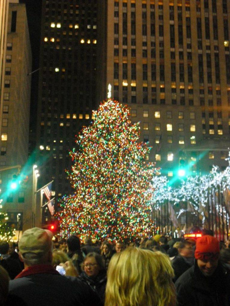 Kerstboom Rockefeller Center 2