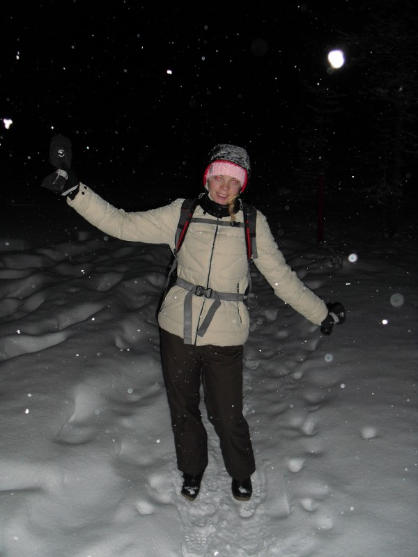 Me in the snow!
