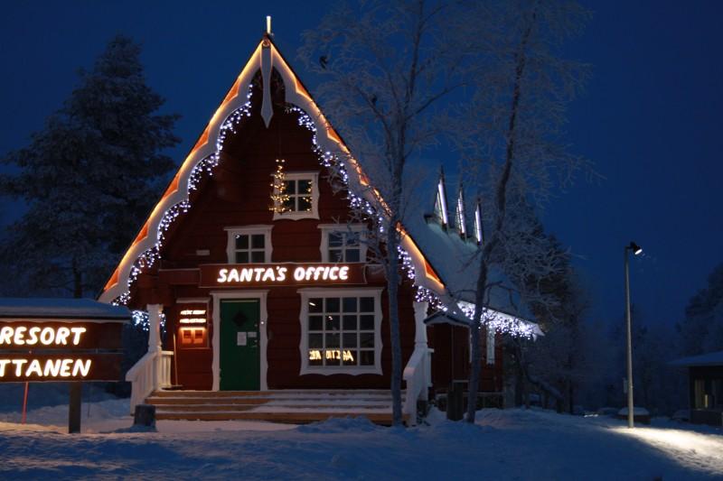 Santa's Office in Saariselkä