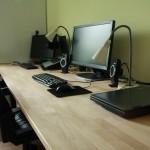 Bureau in studeerkamer