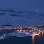 Isafjordur IJsland Winter