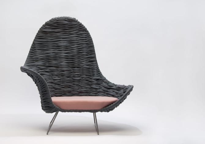 De Armin Chair van Dorothee Mainka