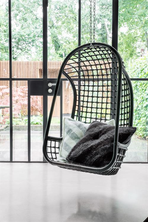 HK Living Hanging Rotan Chair