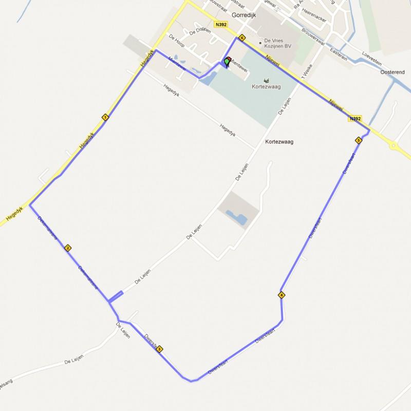 6,4 kilometer