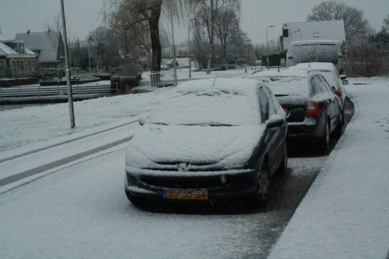 I Love Winter! Auto's in de sneeuw