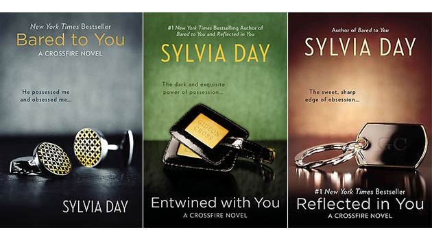 Crossfire series by Sylvia Day