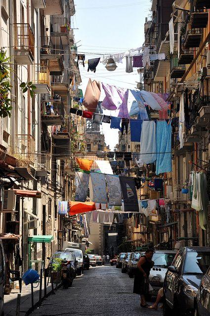 De straten van Napels