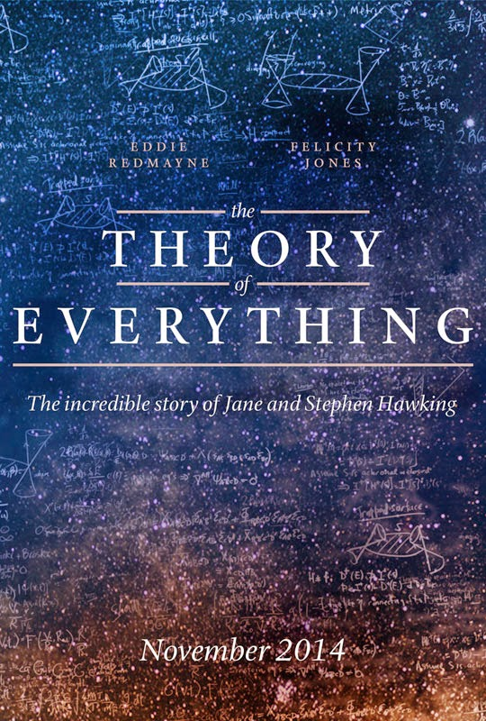 Filmposter The Theory of everything