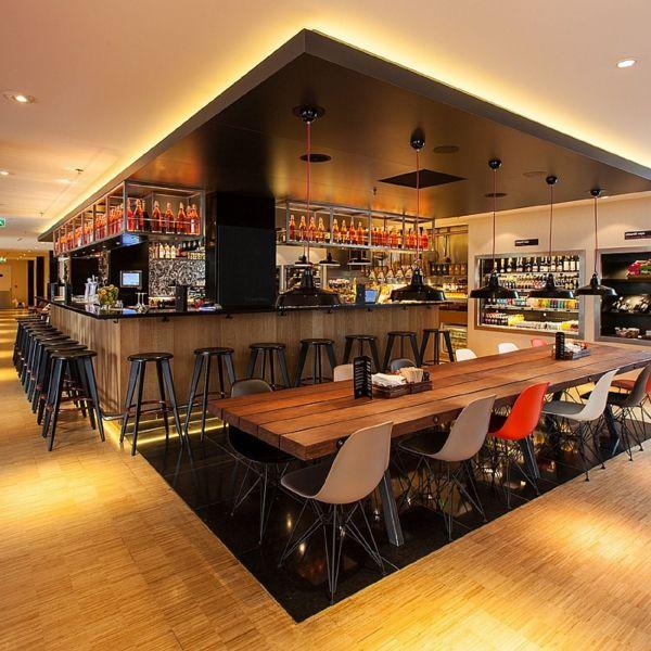 CitizenM Hotel Amsterdam Cafe