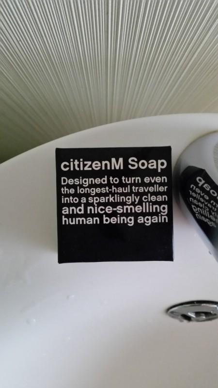 CitizenM Amsterdam Hotel Soap