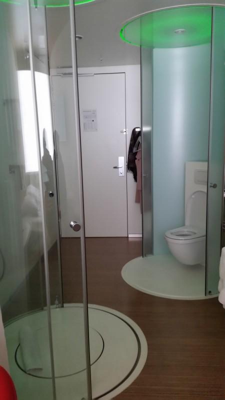CitizenM Amsterdam Hotel Shower