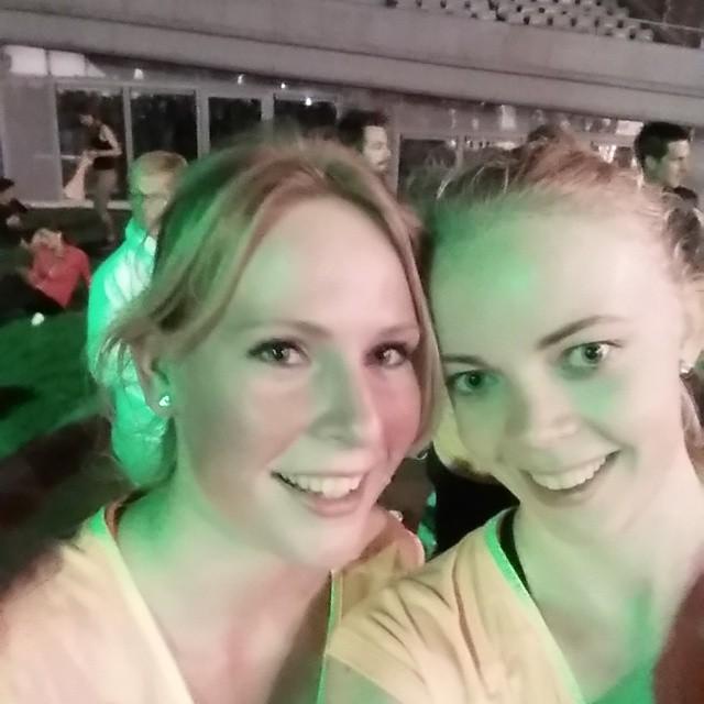 We Run Amsterdam after running selfie