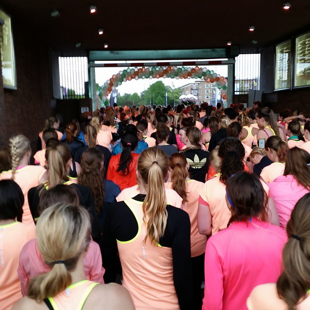 We Run Amsterdam, going to the start!