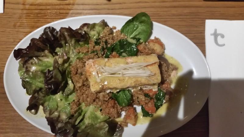Flax and Kale zalm