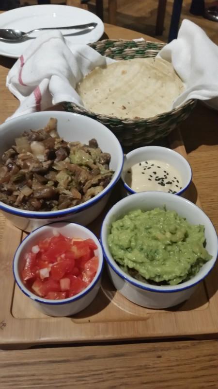Flax and Kale taco