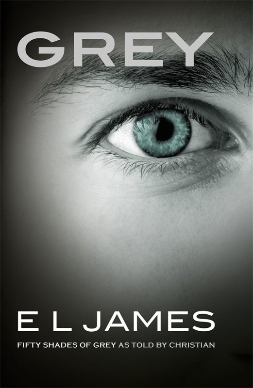 Grey, fifty shades of grey as told by Christian Book Cover
