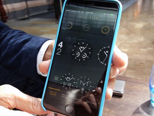 Vector Smartwatch app