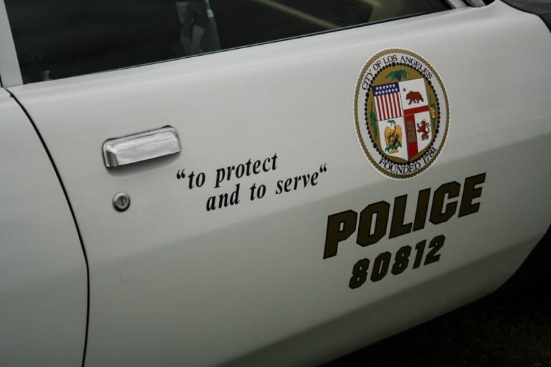 Oldtimer Police Car