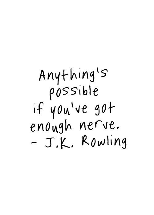 Monday Inspiration J.K. Rowling