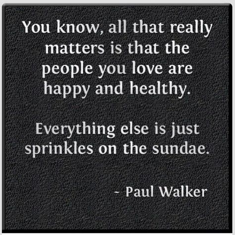 Monday Inspiration Paul Walker