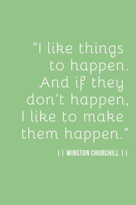 Monday Inspiration Winston Churchill