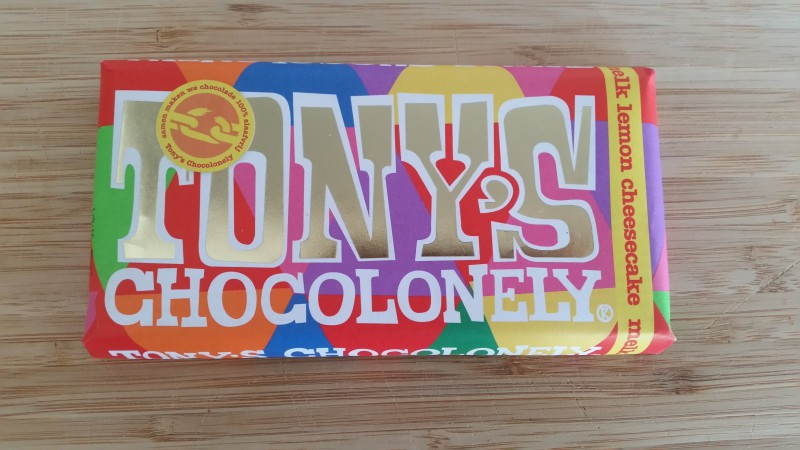 Tony's Chocolonely Lemon Cheesecake Steekwoorden Tag