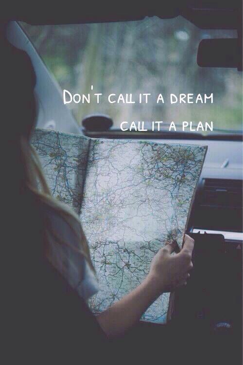 Call it a plan - Monday Inspiration