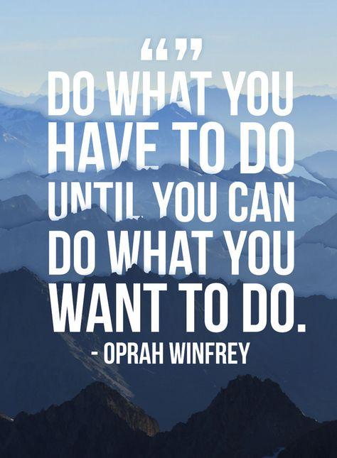 Oprah - Monday Inspiration