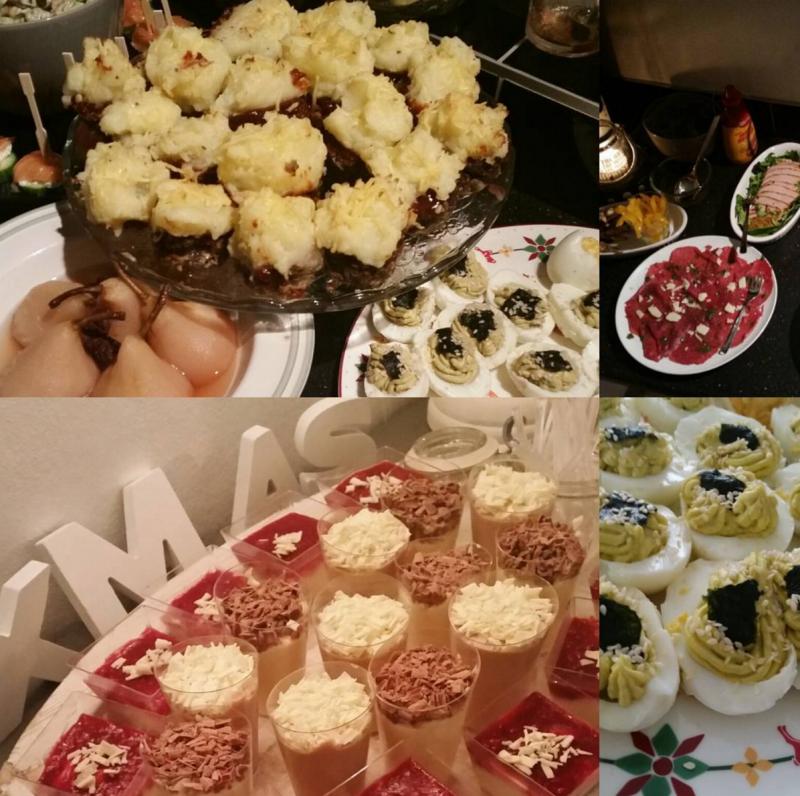 Daily Snaps #1 Christmas Tapas Dinner