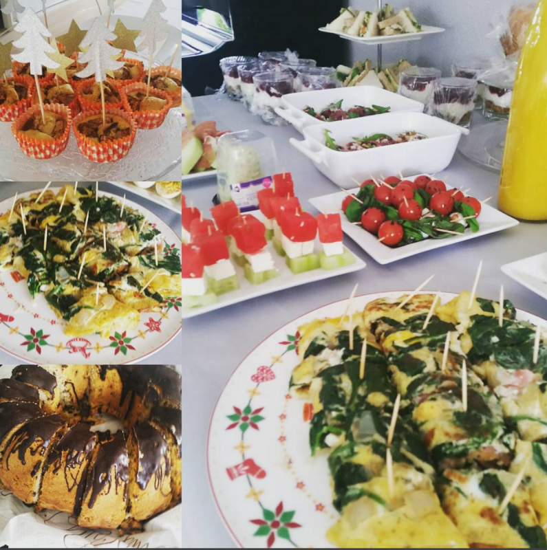 Daily Snaps #1 Christmas Brunch