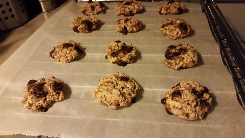 Nuttie oatmeal cookies