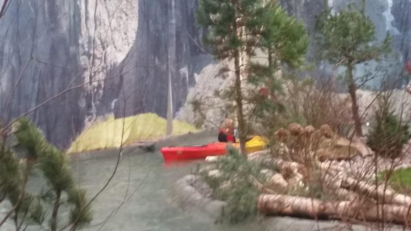 Boot Dusseldorf kanoe track