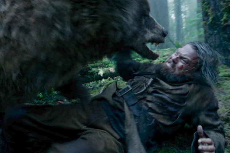Bear Attack The Revenant