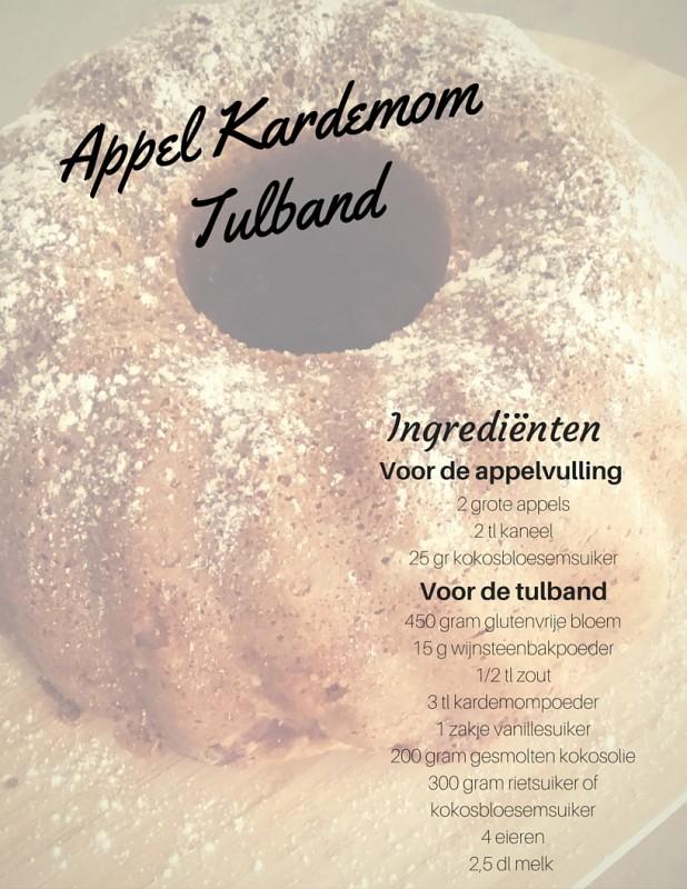 Appel Kardemom Tulband Ingrediënten