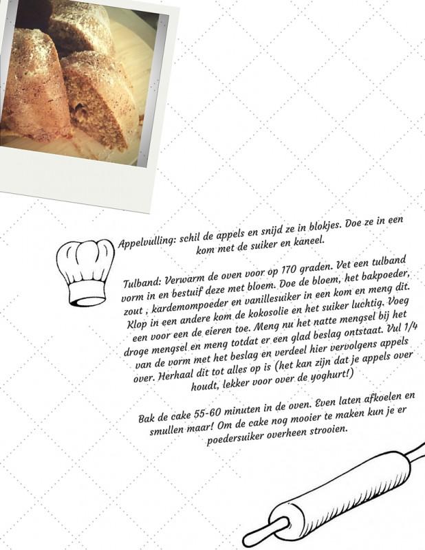 Appel Kardemom Tulband Recept