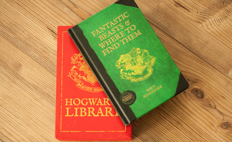 Fantastic beasts and where to find them - Hogwarts Library